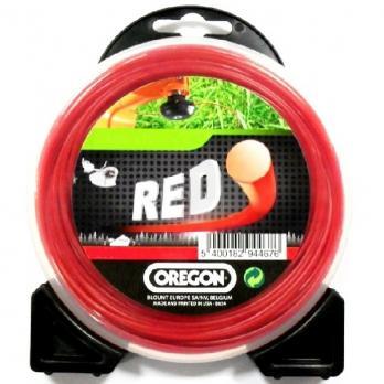 Леска для триммера RED STARLINE 2.4мм/15м 580000R