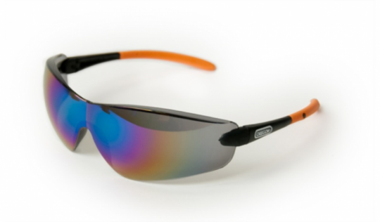 Защитные очки черные зеркальные Oregon Q525252
