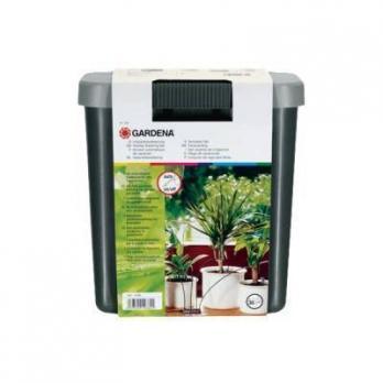 Комплект для полива цветов в выходные дни с емкостью 9л Gardena
