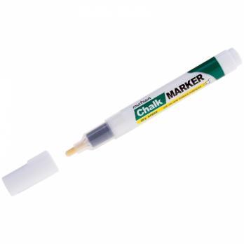 """Маркер меловой MunHwa """"Chalk Marker"""" CM-05 (белый), 3мм"""