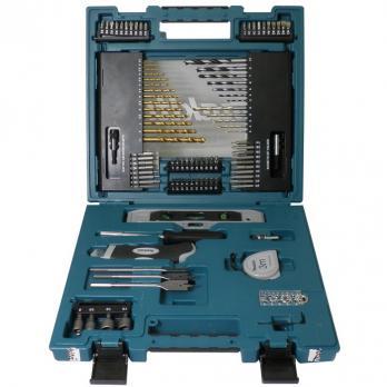 Набор ручного инструмента 104 предмета Makita D-31778