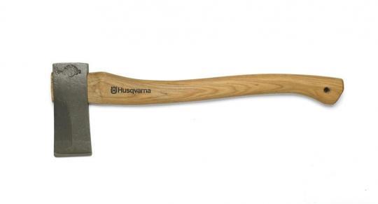 Топор-колун малый  Husqvarna 50 см, с кожаным чехлом на лезвие