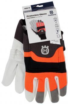 Перчатки с защитой от порезов бензопилой HUSQVARNA Functional 5950039-07