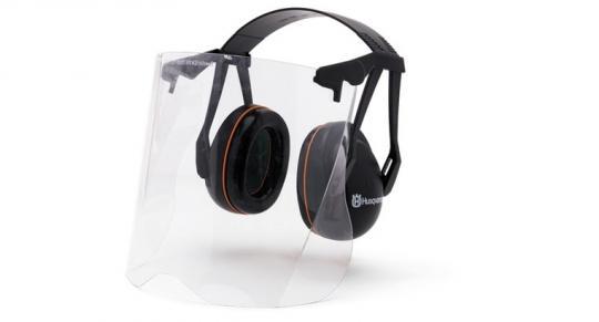 Hаушники защитные с прозрачной маской из плексигласа 5056653-48