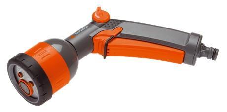 Пистолет для полива многофункциональный Gardena Comfort(8106)