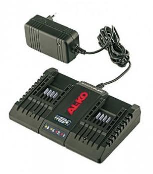 AL-KO зарядное устройство двойное Li 20 V / 2 A Easy Flex