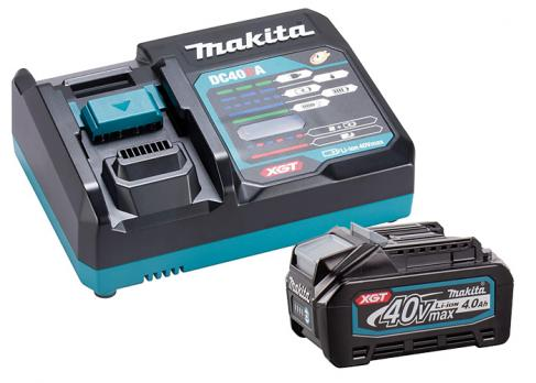 Аккумулятор Makita 191J67-0 (Набор аккум и з/у (XGT, 1x4.0Ач, DC40RA, картон)