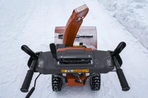 Снегоотбрасыватель Husqvarna ST 124 9704493-02 При покупке снегоуборщика масло в подарок!_1