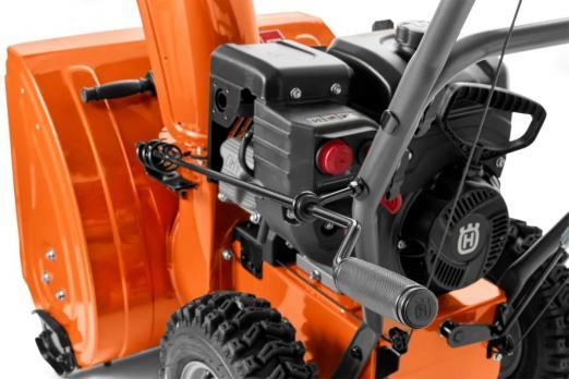 Снегоотбрасыватель Husqvarna ST 124 9704493-02 При покупке снегоуборщика масло в подарок!